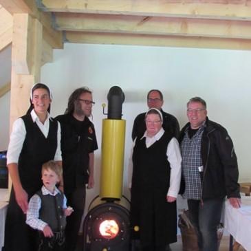 firetube Ofen für das Kinderheim Kalzhofen