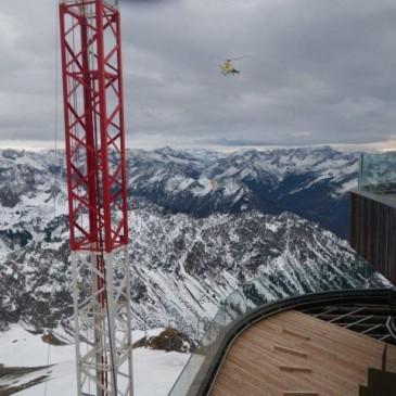 Unsere höchste Baustelle 2016: Nebelhorn Gipfelrestaurant