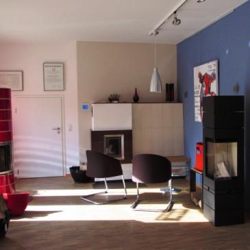 Ausstellung und Büro